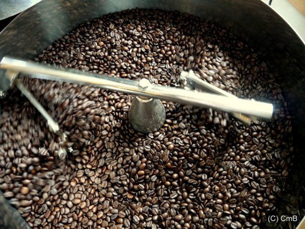 cooling coffee beans