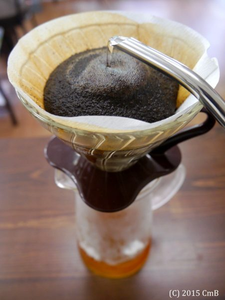 アイスコーヒーの作り方(急冷方式)