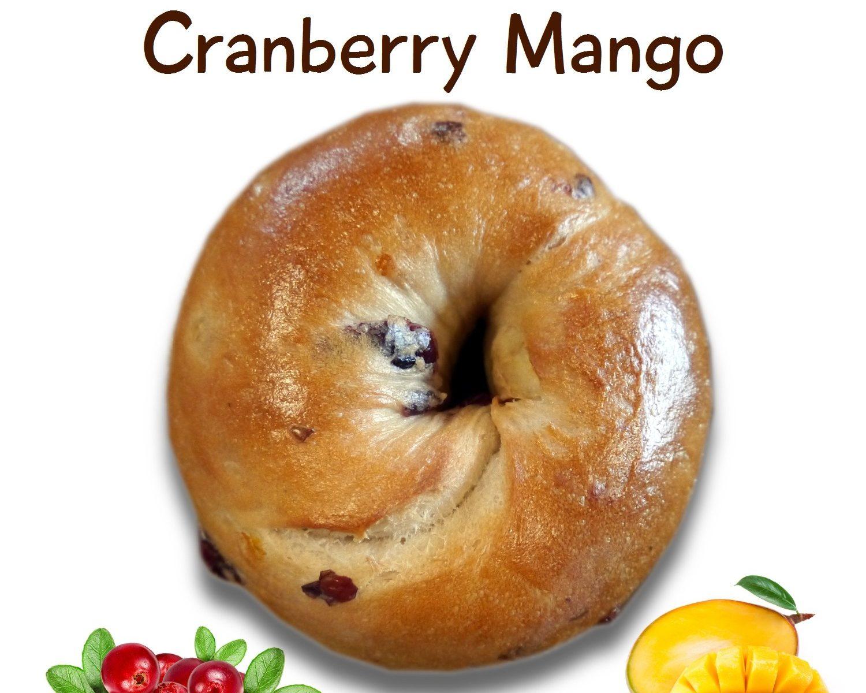 ベーグル: クランベリーマンゴー