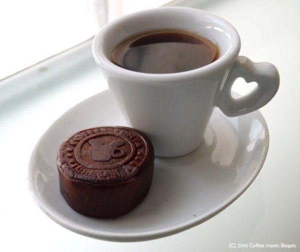 月餅&コーヒー