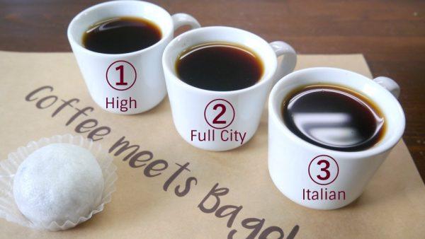 コーヒーと薯蕷饅頭(上用饅頭)のフードペアリング