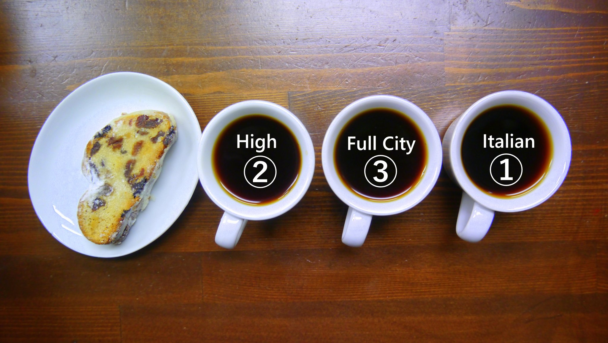 シュトーレンとコーヒーのフードペアリング
