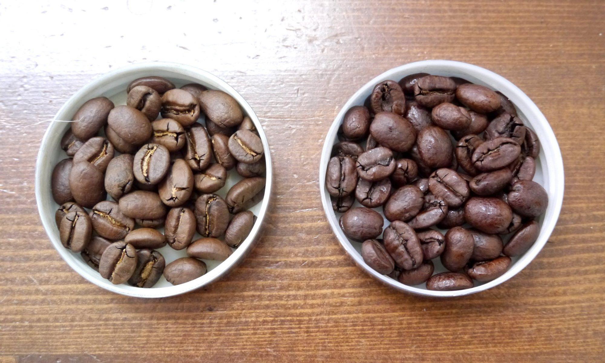 デカフェ(カフェインレスコーヒー)の焙煎豆