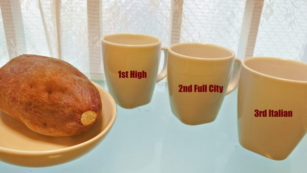 コーヒーと焼き芋のフードペアリング