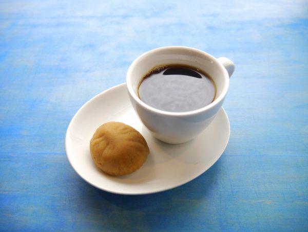栗きんとんとコーヒー