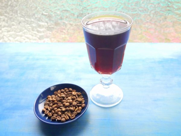 エチオピアモカのコーヒーゼリー