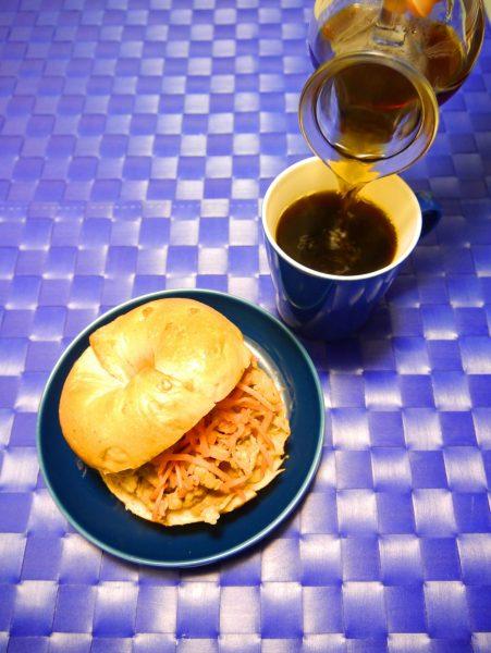 吉野家 牛皿 ベーグルサンド