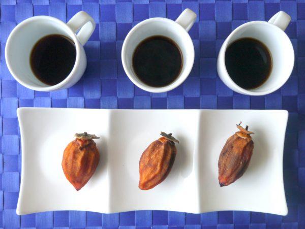 干し柿とコーヒーのフードペアリング