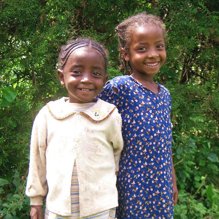 エチオピア イルガフェフェの子ども達