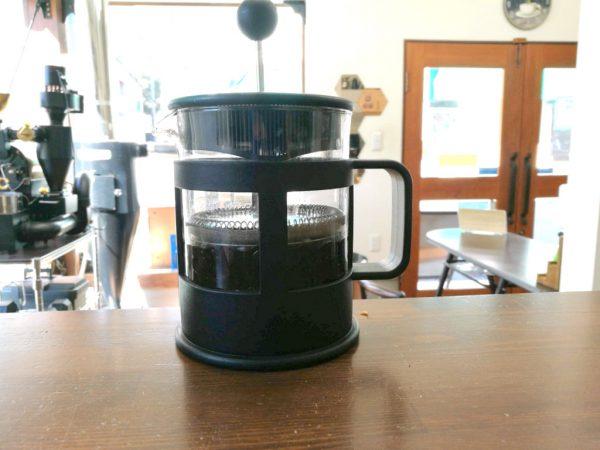 フレンチプレスでコーヒー焼酎
