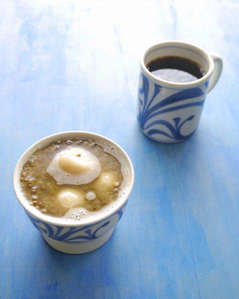 ぶんずぜんざいとコーヒーと砥部焼