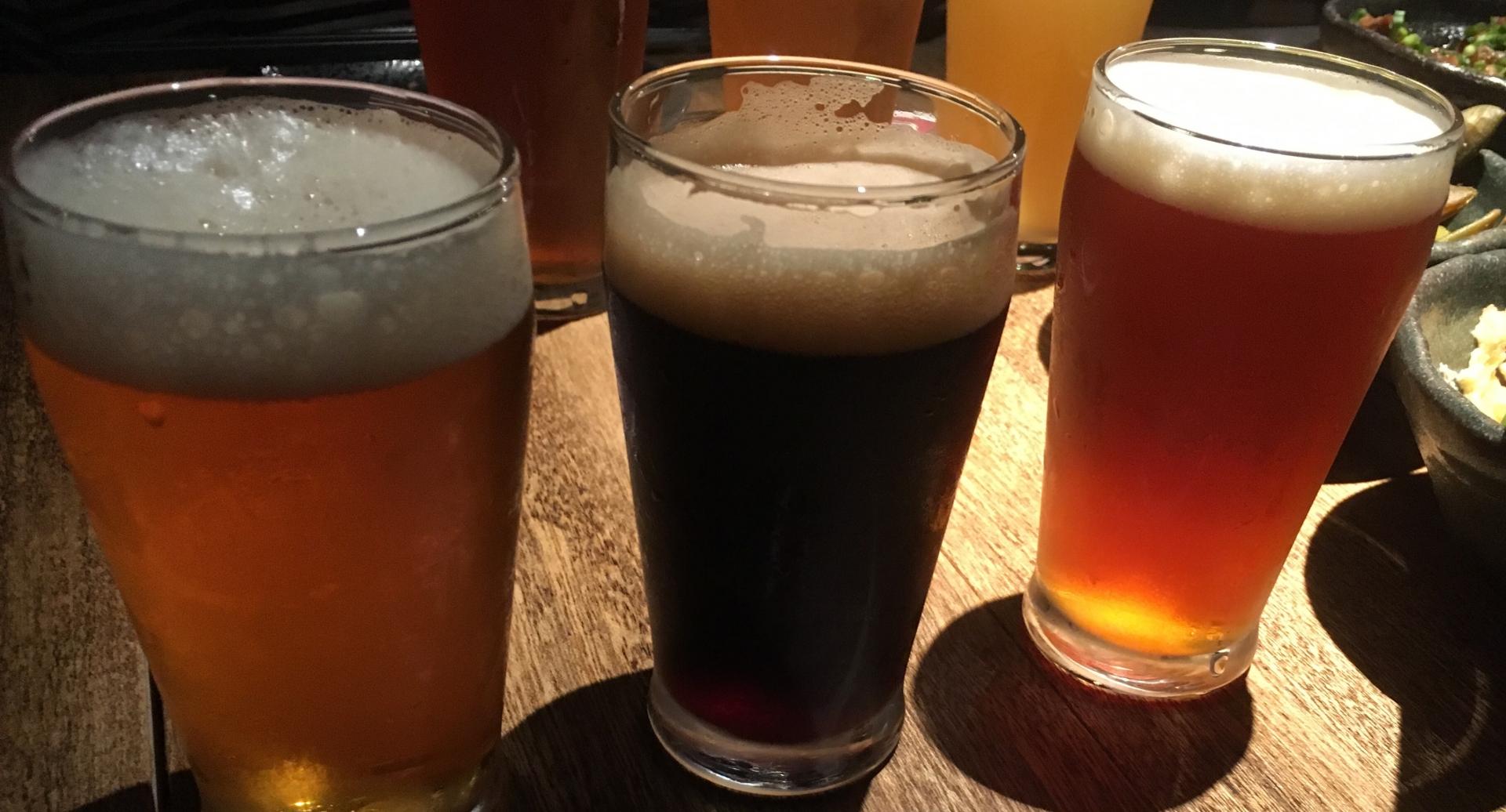 ビールのキレ