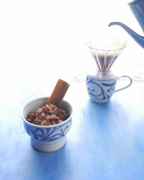 コーヒーあん + 八ツ橋スプーン