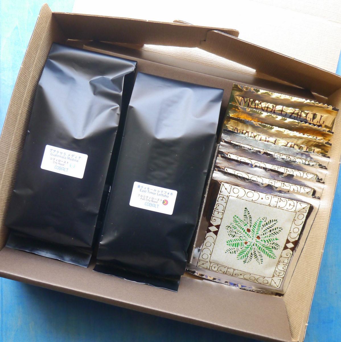 コーヒー豆&マンデルチーゲル&ココチーゲル