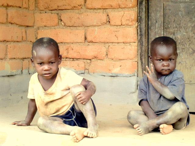 マラウィ ミスク地区の子どもです。