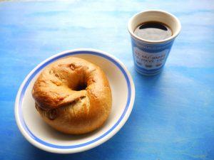 コーベー (コーヒー豆屋のベーグル) キャラメルアーモンド