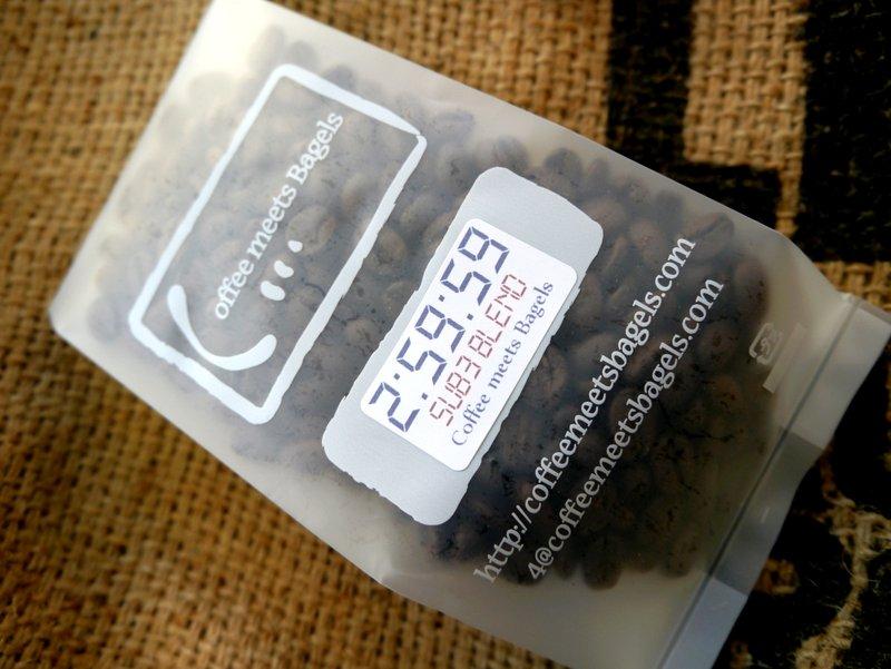 サブスリーブレンドは豆でも提供します