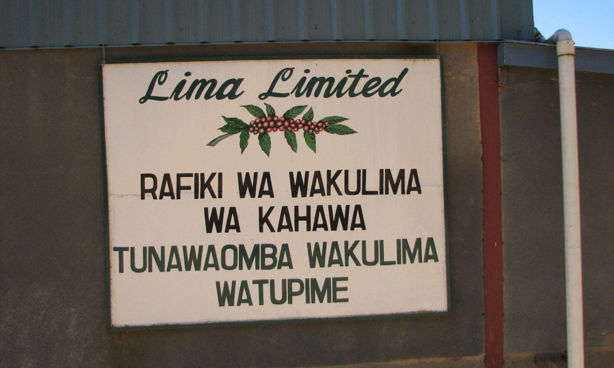 タンザニア リマ (Lima Limited)