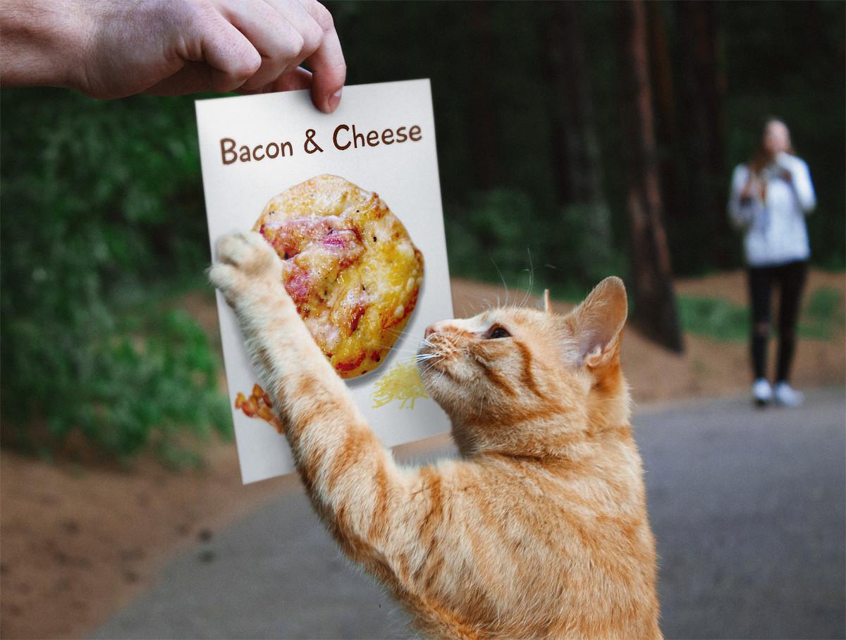 ベーグル: ベーコンチーズ