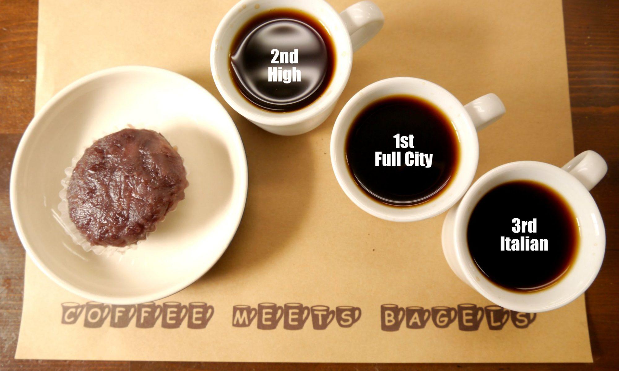 おはぎとコーヒー