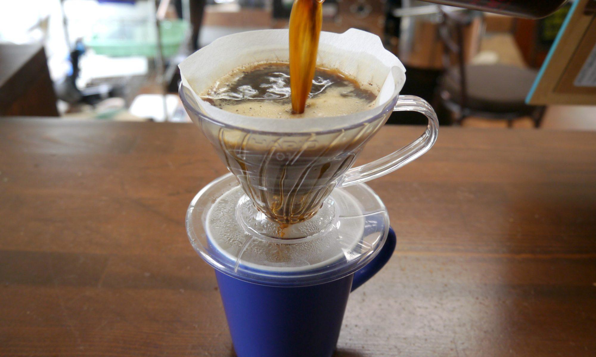 ドリッパーがあれば浸漬法でコーヒーは淹れれます