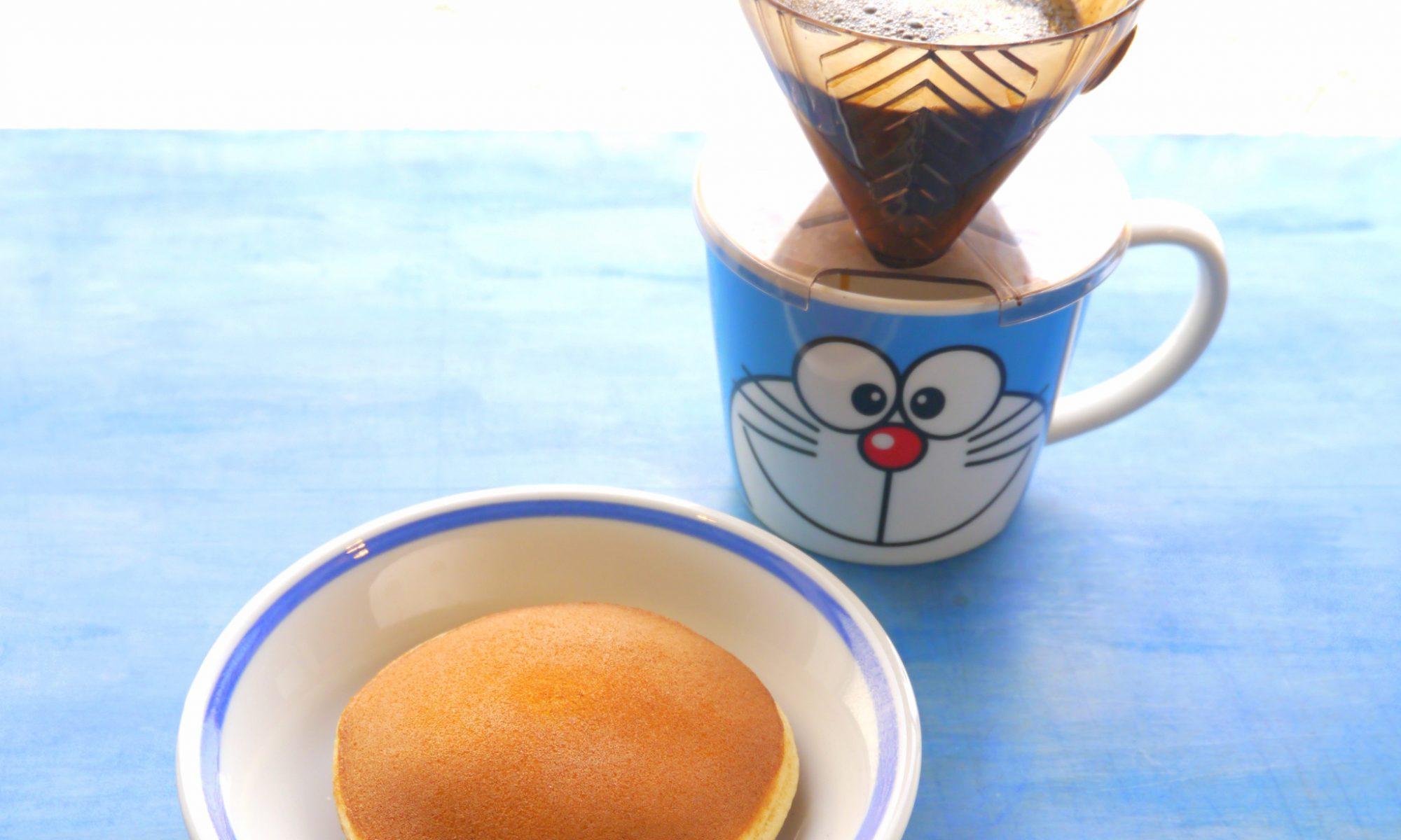 和菓子とハンドドリップコーヒー