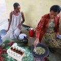 エチオピアのコーヒーセレモニー