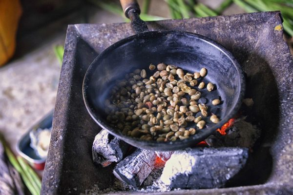 Coffee Bean Roasting, Ethiopia