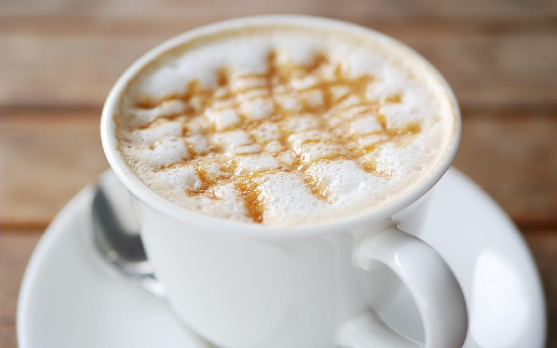 コーヒーにキャラメル